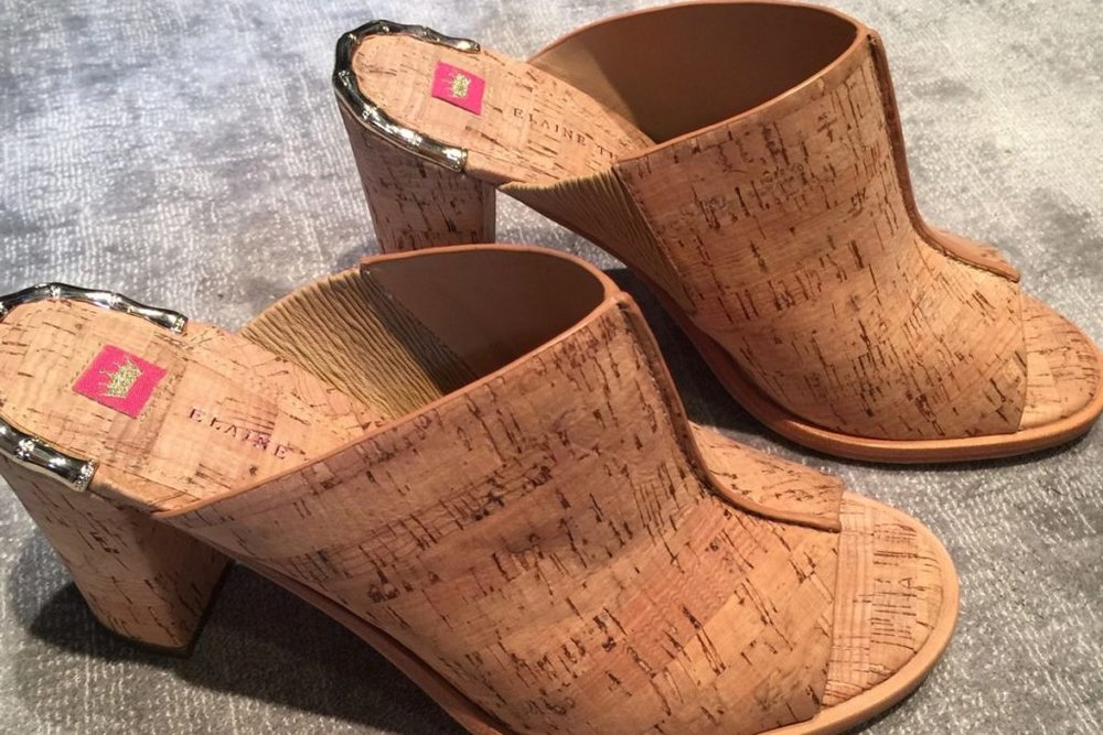 cork shoes