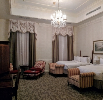 Room in the Chateau, Nemacolin Resort.