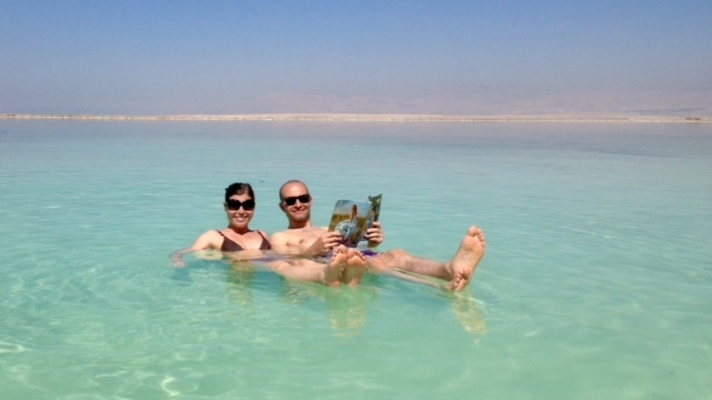 Sara and her husband  did  make it to the Red Sea;Photo by Sara @  The  Bag Under the Bed.