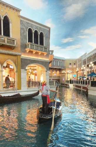 Grand Canal Shoppes at the Venetian, Las Vegas