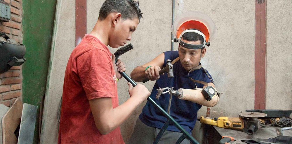 Improving livelihoods through meaningful work