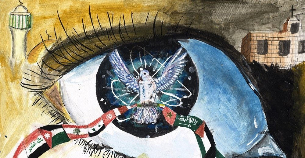 painting: Wadea Haddad