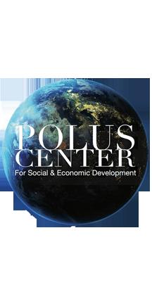 The Earth: Polus Center logo