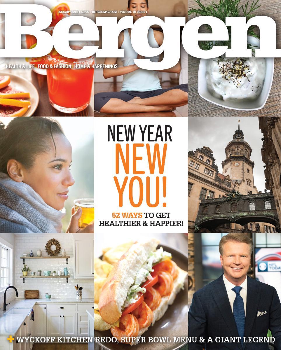 Bergen Magazine - January 2018 cover (kitchen bottom left)