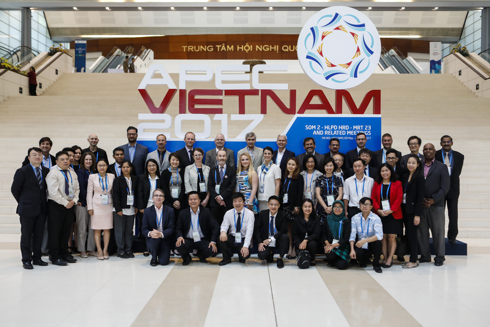 2017 ha noi  The seventh meeting of the  APEC Wine Regulatory Forum  (WRF), was held on May 11-12, 2017 in Ha Noi, Viet Nam.  Click above for more information.