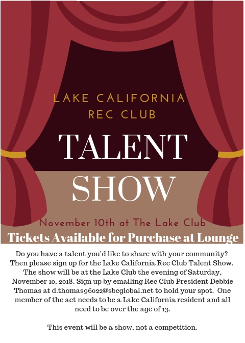Do you have a talent you'd like to share with your community_ Then please sign up for the Lake California Rec .jpg