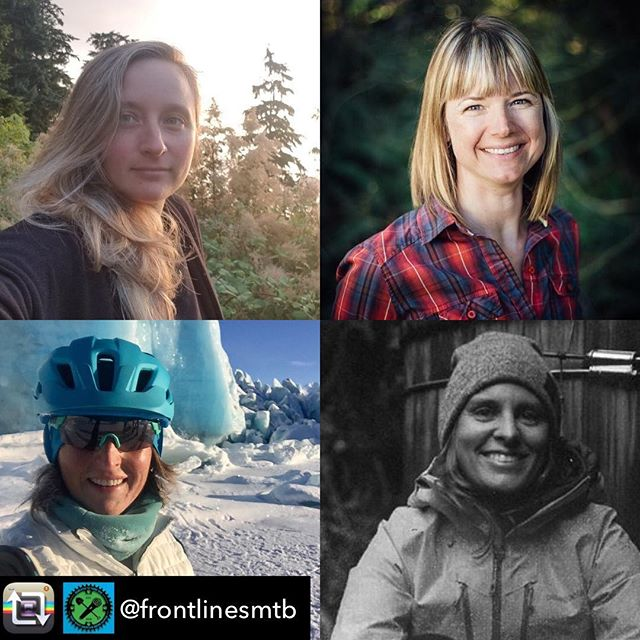 Super stoked to have had the opportunity to spend a little time with some incredible women on the Front Lines MTB Podcast led by guest host, Christine Reid, the Executive Director of the North Shore Mountain Bike Association. To check it out go to @frontlinesmtb and click the link in their profile and subscribe and listen to more meaningful conversations about building an inclusive space in our MTB world. 🚵🏽♀️🚵🏼♂️🌎 @chrisreid456 @youngcynthia @danielle.baker @frontlinesmtb @nsmba @schulzea