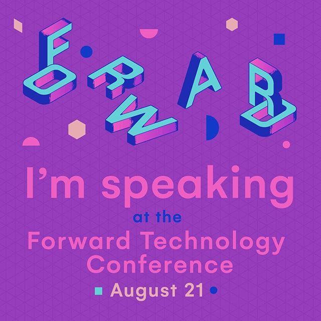 Back from a relaxing family vacay week where I went into total checkout mode 😌 ...now I'm stoked to be checking back in ✅ and putting some mega prep fuel into next week's presentation for @fwdfest in beautiful, progressive, and tech packed #madisonwi 👏👏 Join us at #forwardfestival and receive 15% off your registration with promo code FTCSpeakerFF when you click the #linkinbio 👆to register.