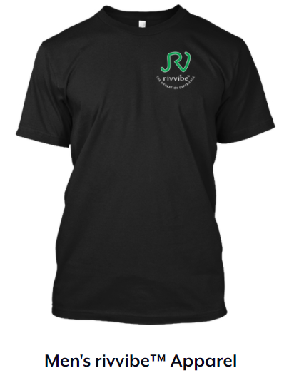 - Show off your love and support for rivvibe™ with our  apparel options for men on Teespring.
