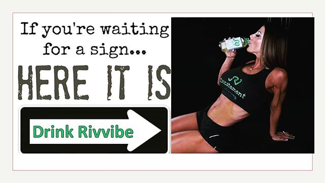 Its #fitfriday! Drink rivvibe with our 100% all natural ingredients to help live a healthy lifestyle. Our Moringa tea in also filled with antioxidants and only 5g of sugar! #rivvibe #myhydrationexperience