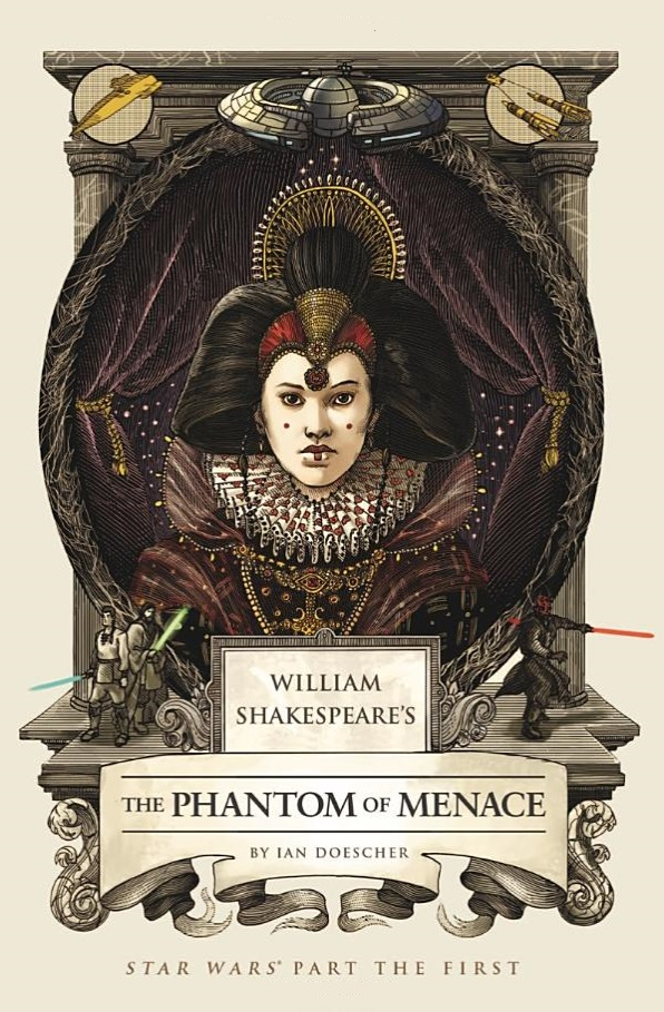 The Phanton of the Menace front cover