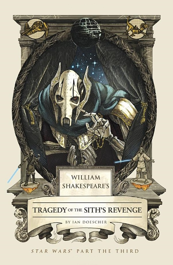 Tragedy of the Sith's revenge front cover