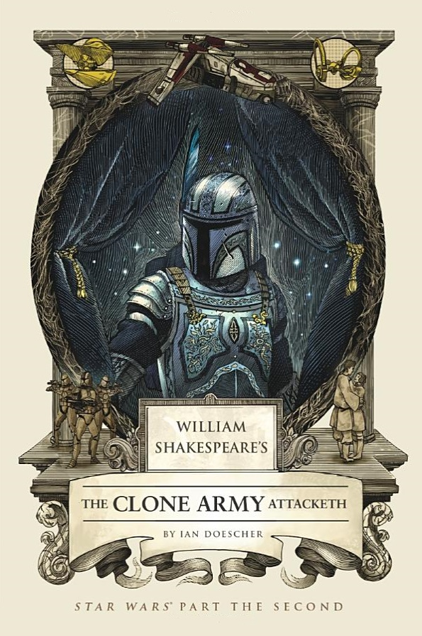 The Clone Army Attacketh front cover