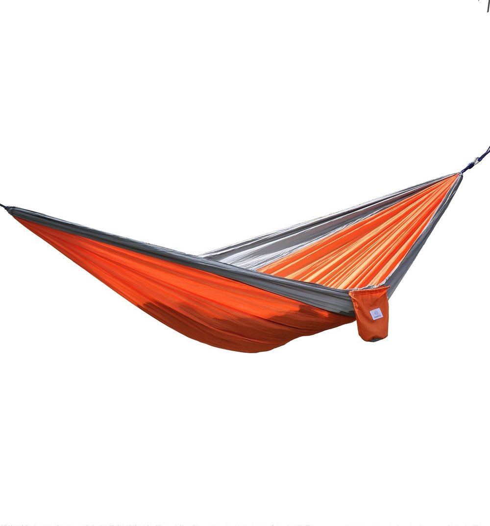 Orange and Grey Hammock