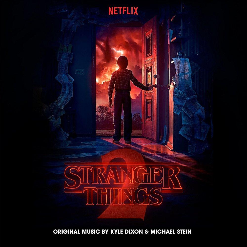 Stranger Things Season 2 Soundtrack Album cover