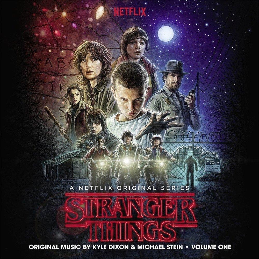 Stranger Things Season 1 Soundtrack Album cover