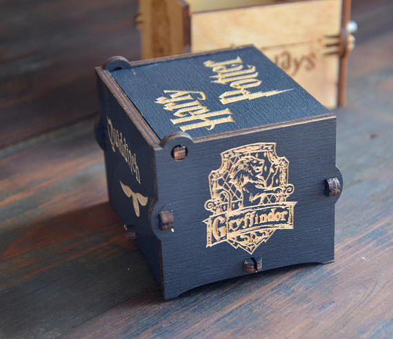 Harry Potter Music Box in blue