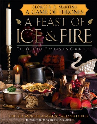 A feast of ice & fire cookbook front cover