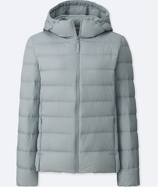 Grey Woman's Parka