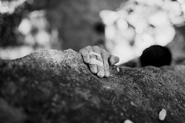 I think I'm going to start a photo collection of climbing hands. The detail, contrast and uniqueness of each hands is enthralling.  Here are some hands from a bouldering session at Camp 4 in Yosemite.