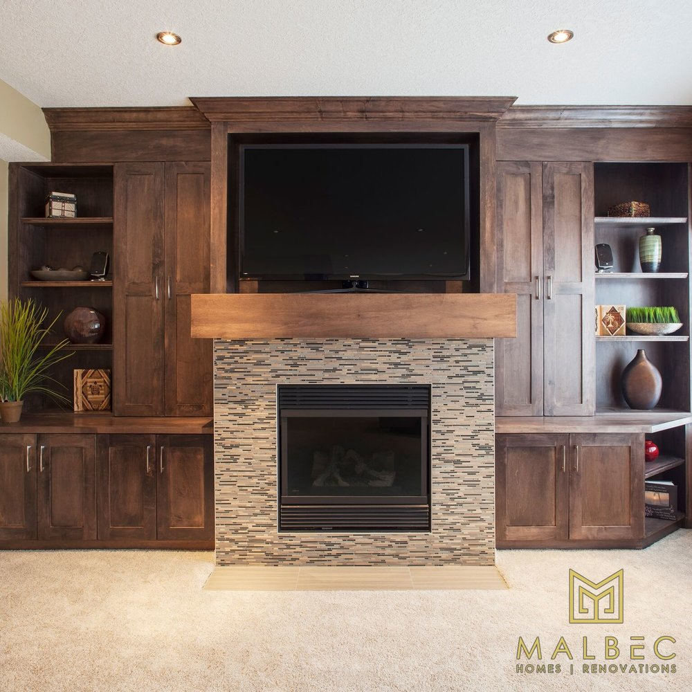 Calgary Home Renovation Basement Malbec Homes