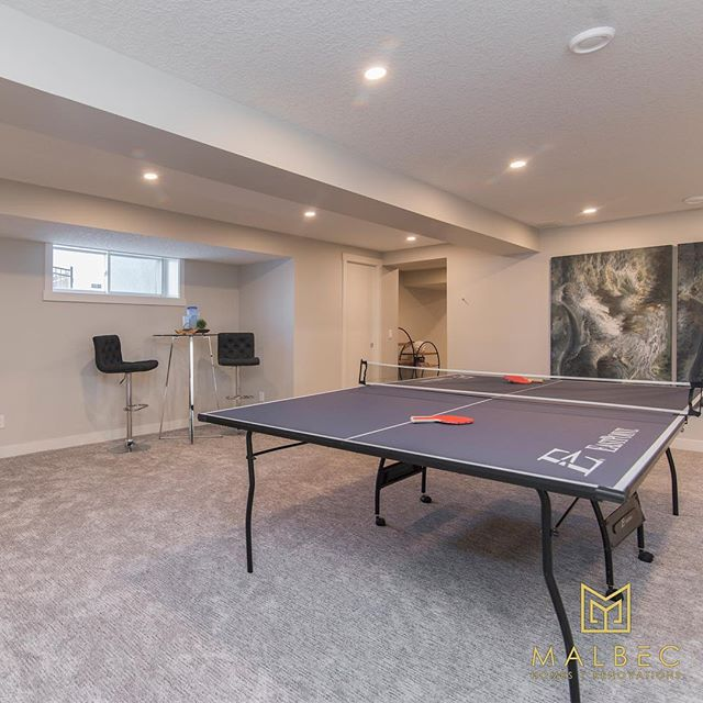 Transform your basement into your favourite space in the house with Malbec Homes. We work with our clients to bring their dreams to life with custom renovations. Call 403-999-1900 for a free renovation consultation today. #malbechomes #customrenovations #basementrenovations #yycliving #luxurycalgary #creatingstunningspaces