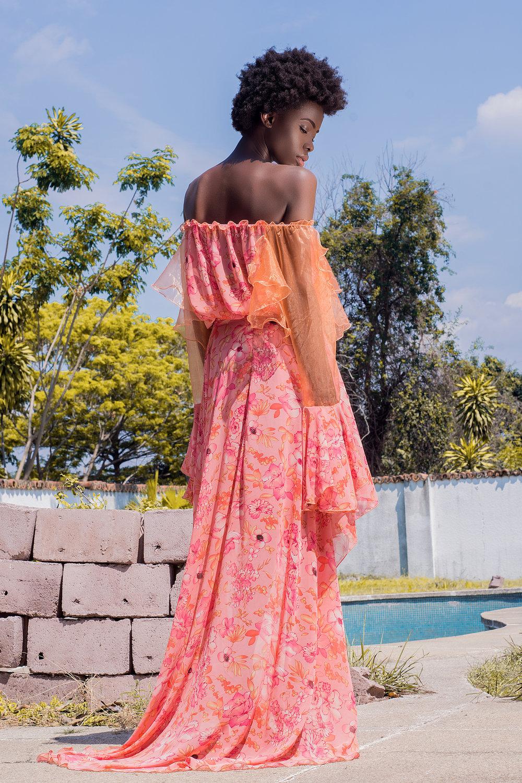 LA SAPE AU FEMININ - Robe imprimee