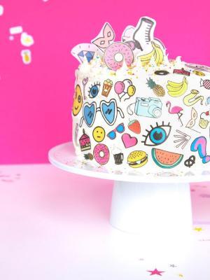 Weekly-Roundup-8-Aww-Sam-DIY-Rainbow-Sticker-Cake.jpg