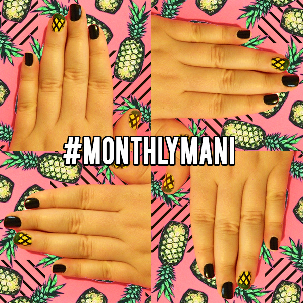 DIY-Monthly-Mani-Graphic-Pineapple-Graphic-Cover