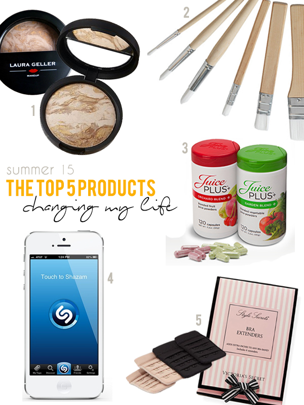 Friday-Five-Top-5-Products-Summer-15