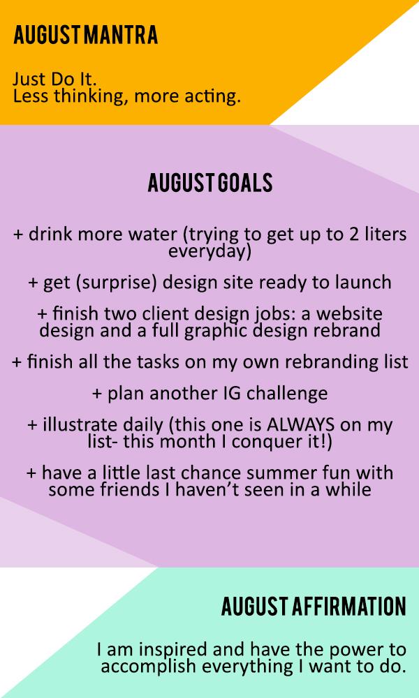 Goals-August-2015