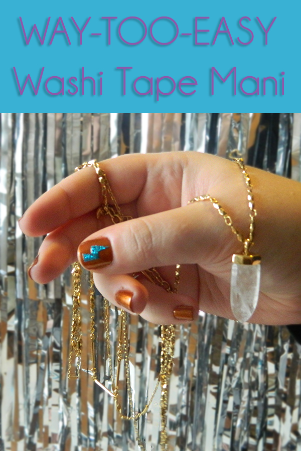 Monthlymani Glam Rock Nail Art With A Simple Cheat Free