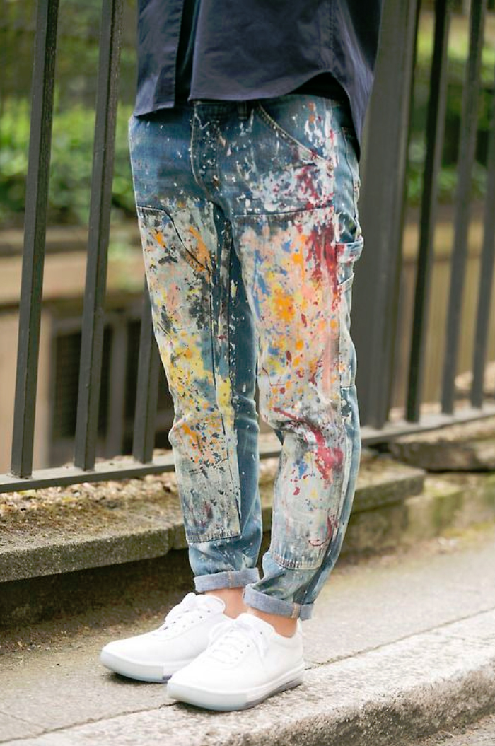 Friday-Vibes-Crafted-Denim-Painted-Jeans
