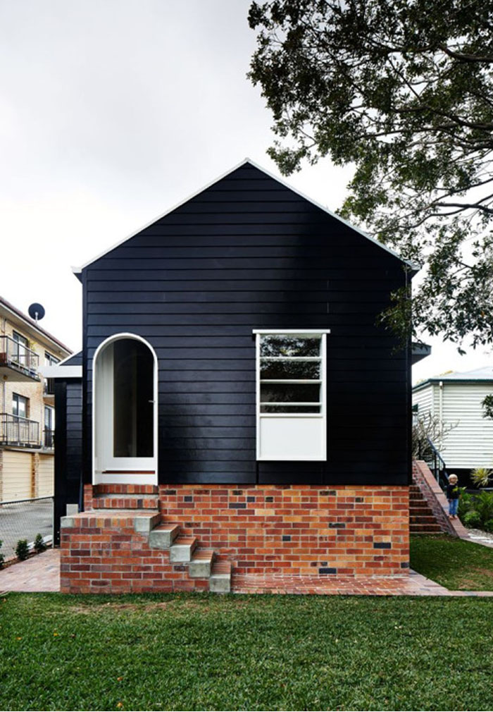 Friday-Vibes-Paint-It-Black-House