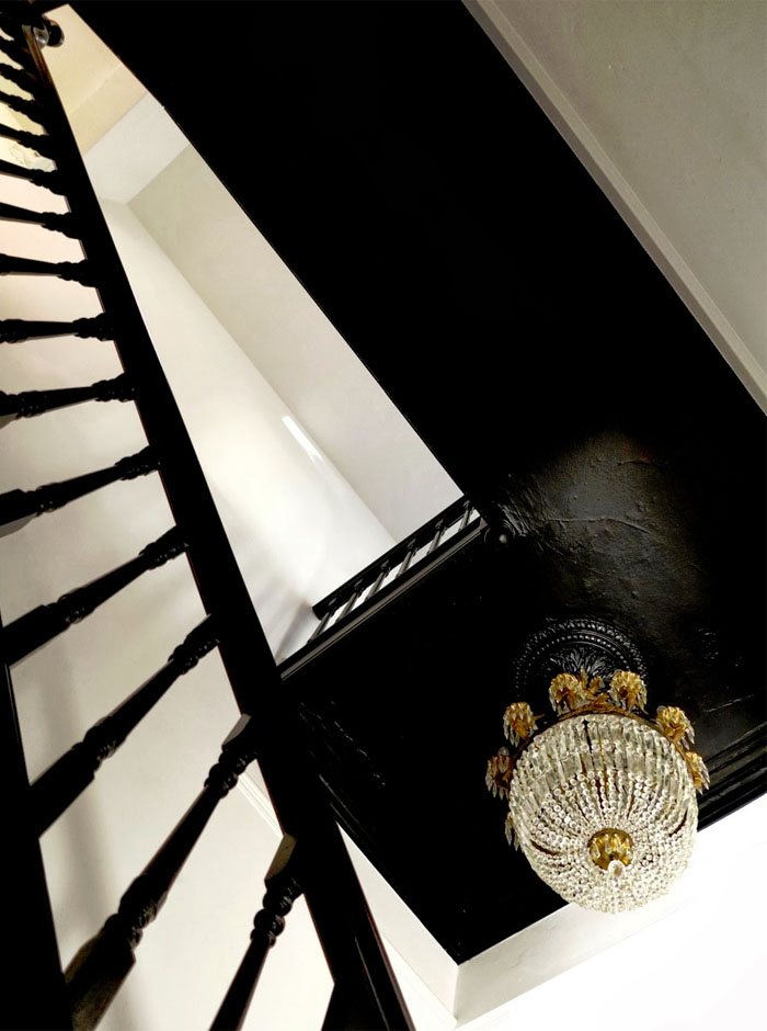 Friday-Vibes-Paint-It-Black-Stairway