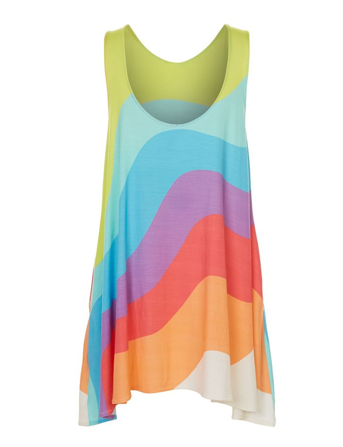 Friday-Vibes-Rainbow-Mara-Hoffman-Top