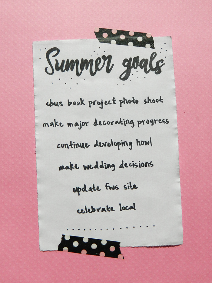 Goals-Summer-List-Main