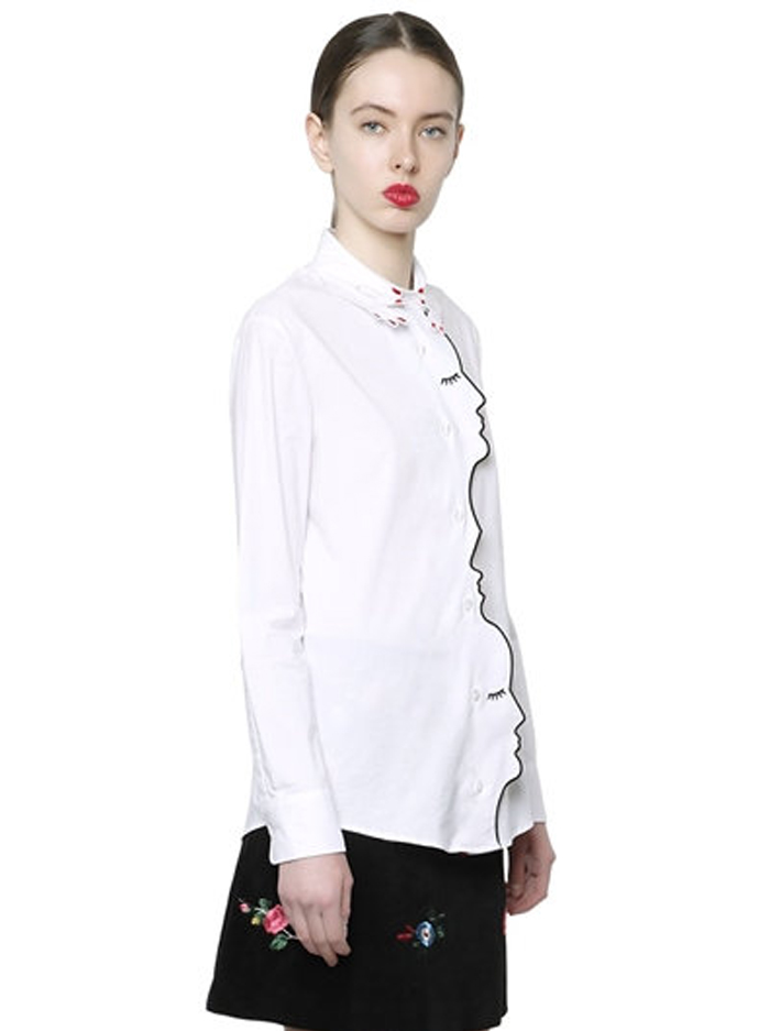 Friday-Vibes-Vivetta-Face-Blouse-White