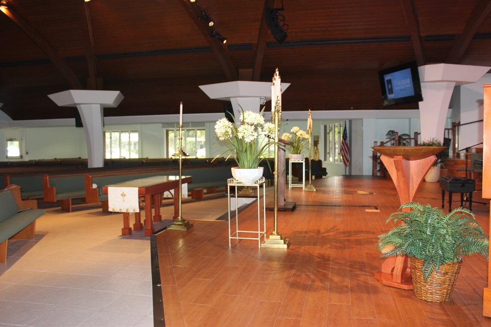Venice Presbyterian Church_empty
