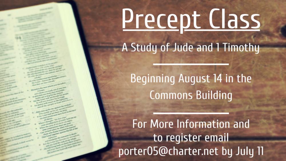 Precept Class August2018.png