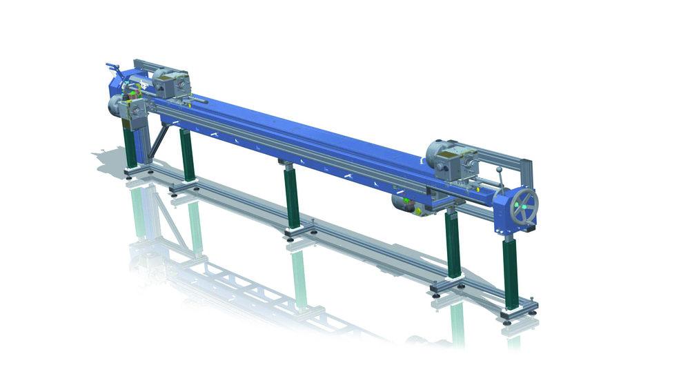Montagelinie für manuelle Montage von Fahrzeugbaugruppen  - Entwickelt und gefertigt inkl. CE und Dokumentation