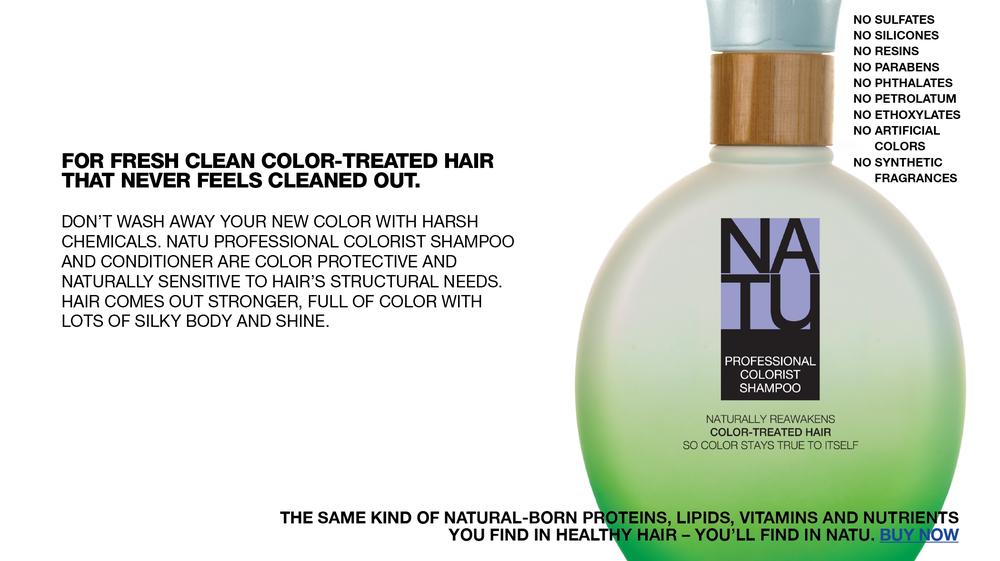 Professional Colorist Shampoo Landing