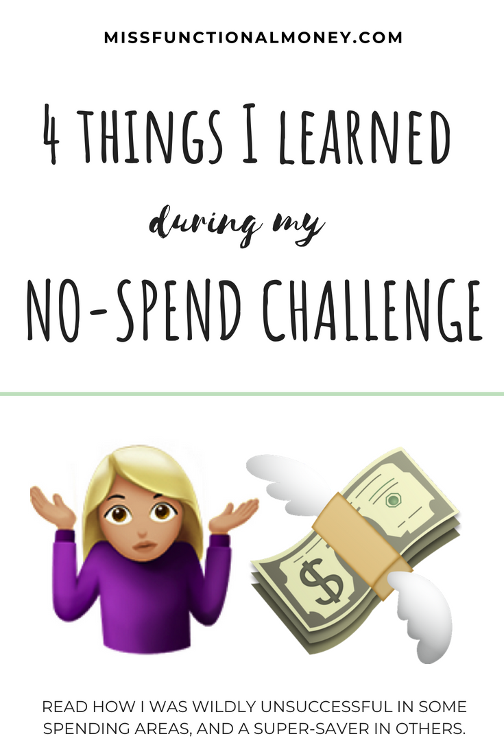 No spend challenges are a great way to save money and pinpoint your spending habits. it's what all the personal finance cool kids are doing.