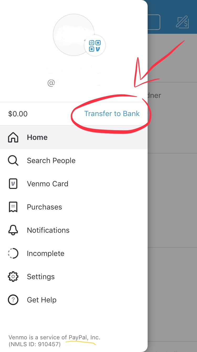 How to transfer money to bank from Venmo