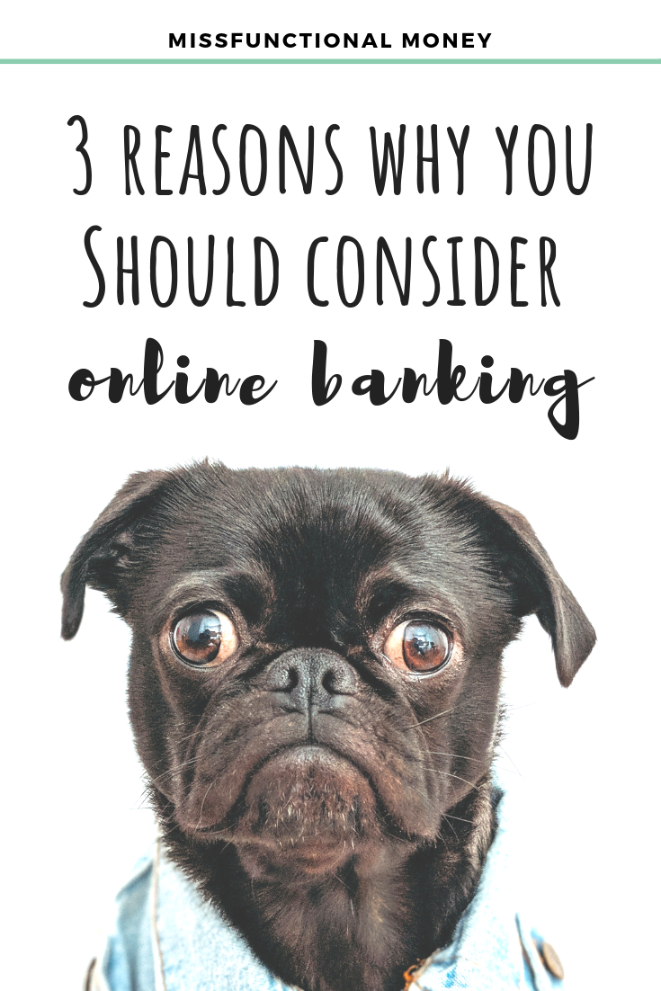 Online banks vs. local banks - discover the pros and cons of each, and which is right for you.   #MissFunctionalMoney #savemoney #savingmoney
