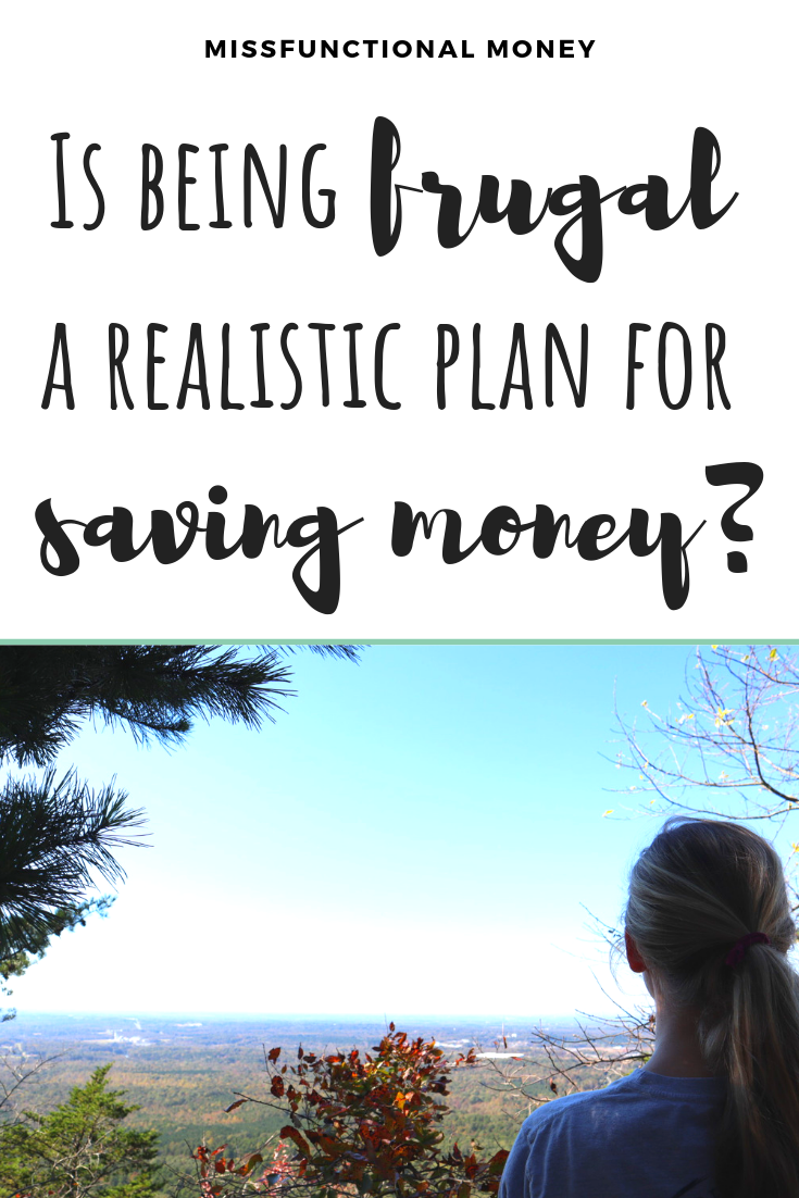 Is being frugal the best way to save more money? Here's how I keep my money in perspective, and how you can too! #savemoney #moneyideas #money #missfunctionalmoney