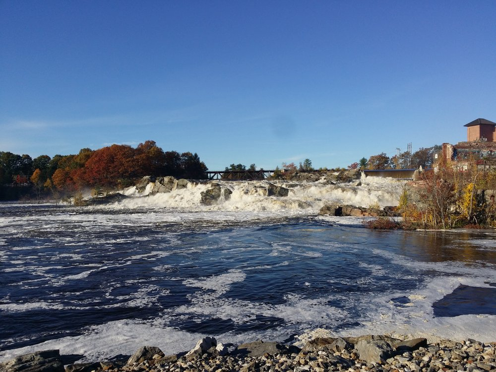 Great Falls in Lewiston-Auburn