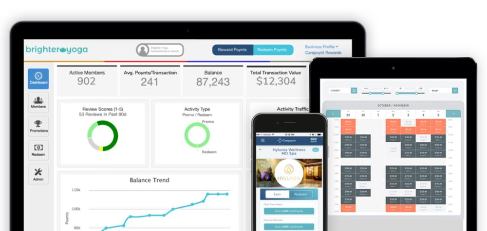 Carepoynt Administrative Dashboard, Careplan Offers & Partner Scheduling