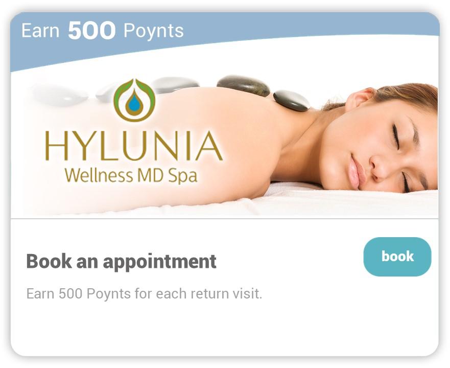 Hylunia on Carepoynt - Book an appointment