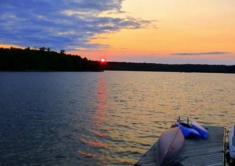 Gull Lake Sunset.JPG